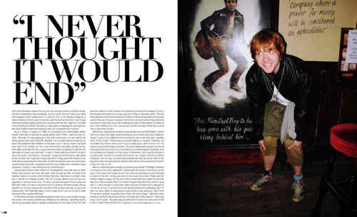 Rupert: I never thought it would End!