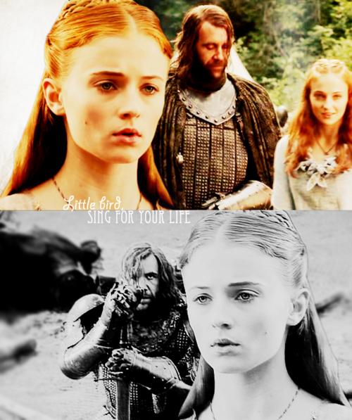 Sansa & Sandor - Game of Thrones Fan Art (22477158) - Fanpop