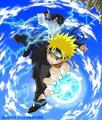 Sasuke and Naruto - naruto-vs-dragon-ball-z photo