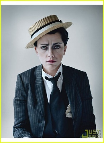 Scarlett Johansson Crossdresses for 'W' Magazine