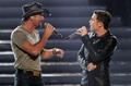 Scotty and Tim McGraw singing