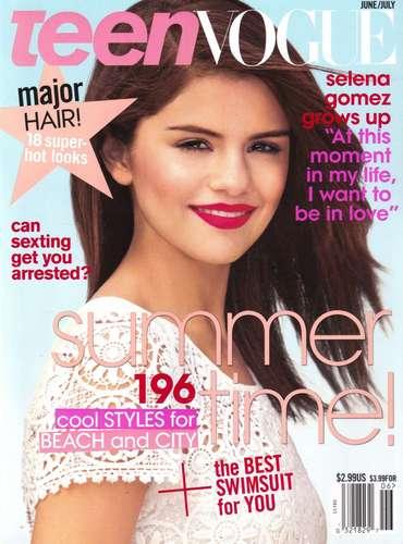 Selena - Magazines & Scans - Teen Vogue - June/July 2011