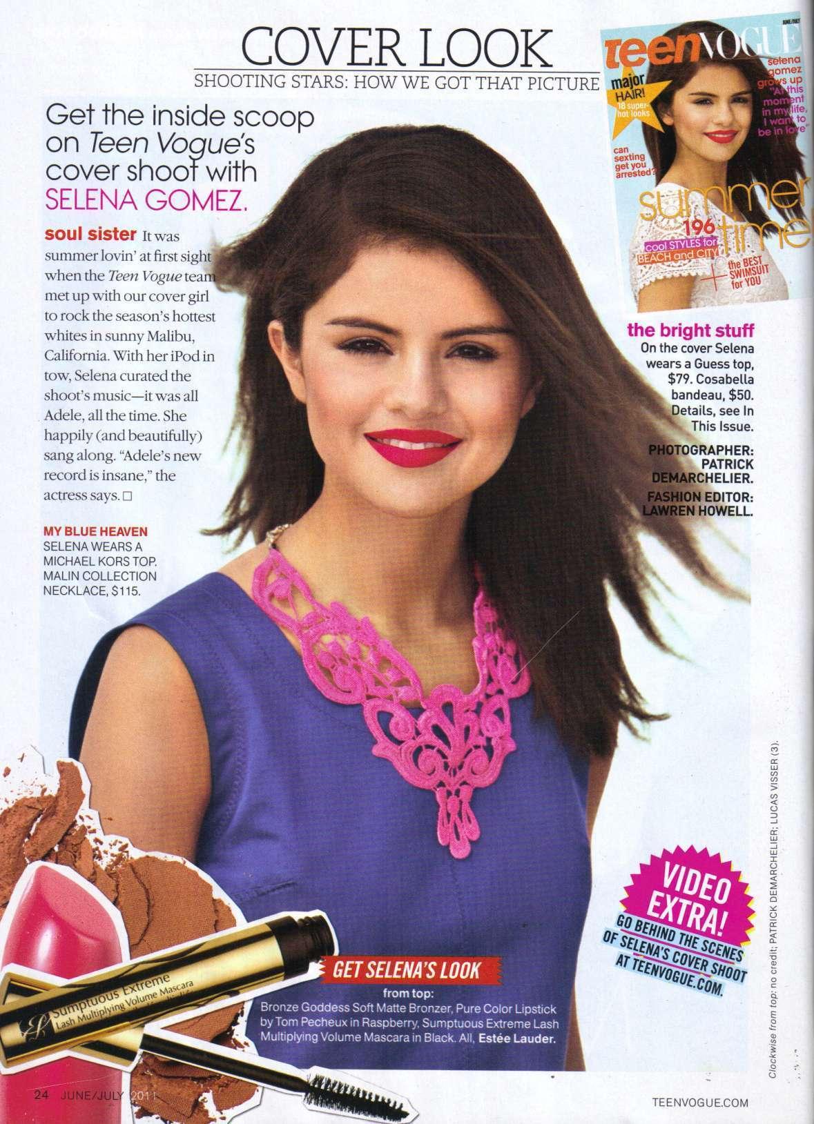 Teen People Magazin Scan