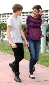 Selena and Justin!