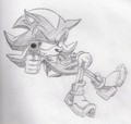 Shadow With a GUN! - shadow-the-hedgehog photo