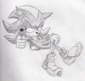 Shadow with  a gun!! - shadow-the-hedgehog photo