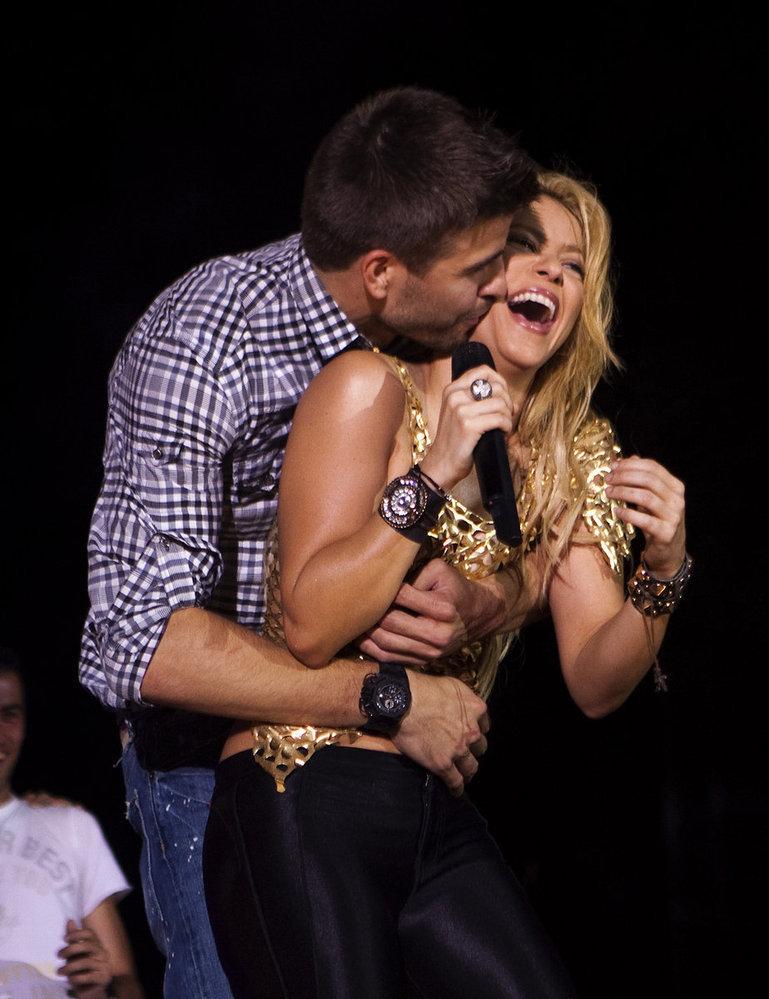 Shakira Piqué disgusting sex show !
