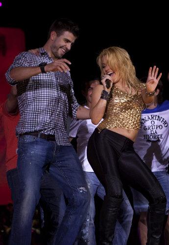 Shakira Piqué mostrar el sexo repugnante!