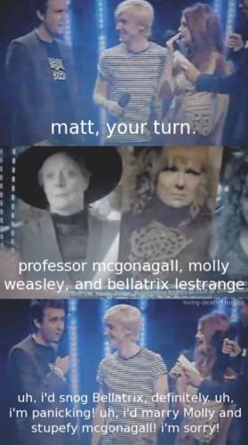 Harry Potter vs Twilight fond d'écran called Snog, marry, stupefy