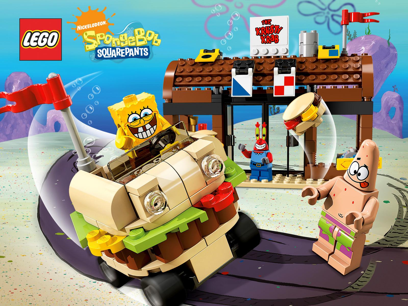 lego spongebob squarepants images spongebob wallpaper hd wallpaper