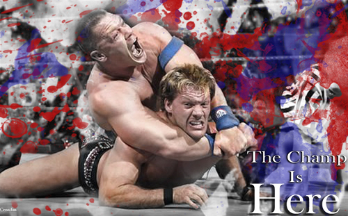 WWE wallpaper probably with a gymnast called The Champ Is Here