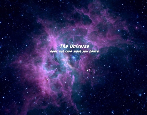 The Universe Does Not Care