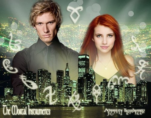 Shadowhunters wallpaper with a portrait entitled The mortal Instruments