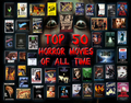 top, boven 50 Horror films of All Time