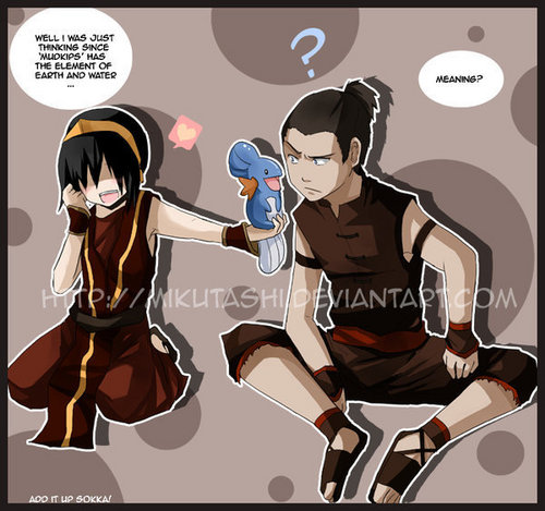 Toph and Sokka