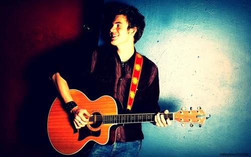 Tyler Hilton karatasi la kupamba ukuta containing a guitarist, an acoustic guitar, and a tamasha called Tyler