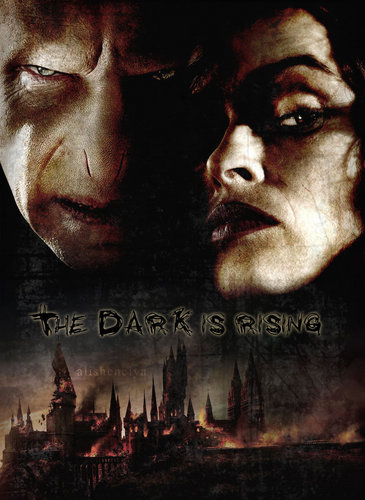 Voldemort and Bellatrix poster
