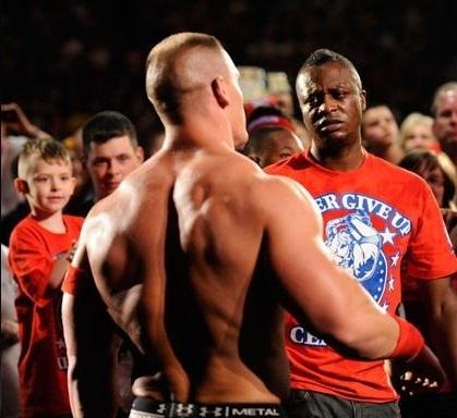 WWE Raw 5-30-11 John Cena Vs R-Truth