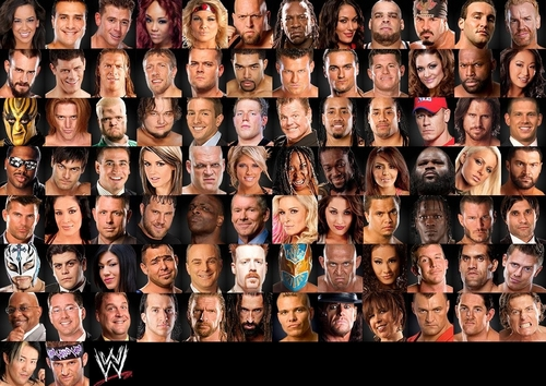 WWE 바탕화면 entitled WWE Roster