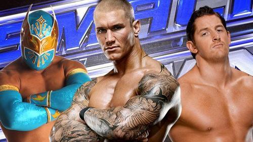 Wade Barrett,Randy Orton,Sin Cara
