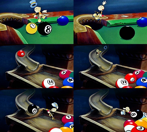 Walt Disney Movie Mistakes - The Ball that Changed Color and Number