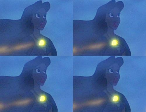 Walt Disney Mistakes - Vanessa's Shell