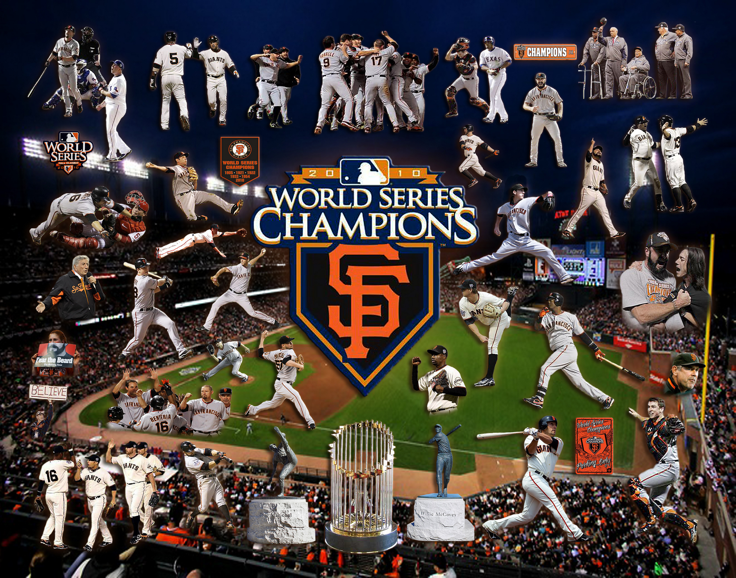 World Series Champions - San Francisco Giants Photo