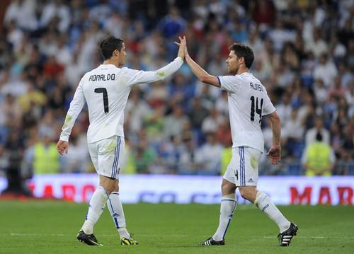 X.Alonso & C.Ronaldo