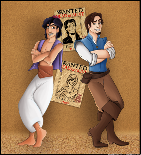 aladdin and flynn