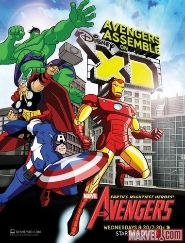 avengers -Earth's Mightiest Heroes