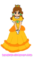 cute daisy - princess-daisy fan art