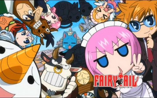 buntot ng engkanto wolpeyper containing anime called fairy tail