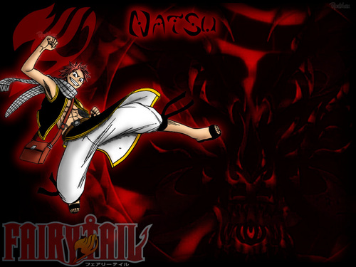 Fairy Tail wallpaper probably with anime entitled fairy tail