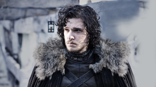 Jon Snow looking pensive