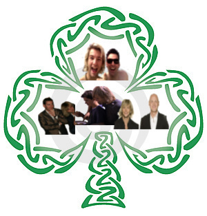 keith with everyone in Celtic Thunder