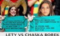 leticia sahagun vs Chaska Borek - chicharito photo
