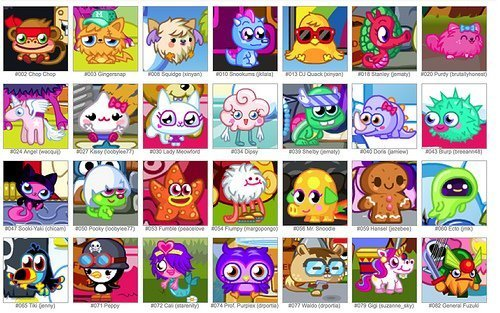lots of moshlings - moshi-monsters Photo