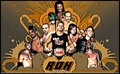 roh belt - wrestling photo