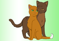 squirrelflight and brambleclaw