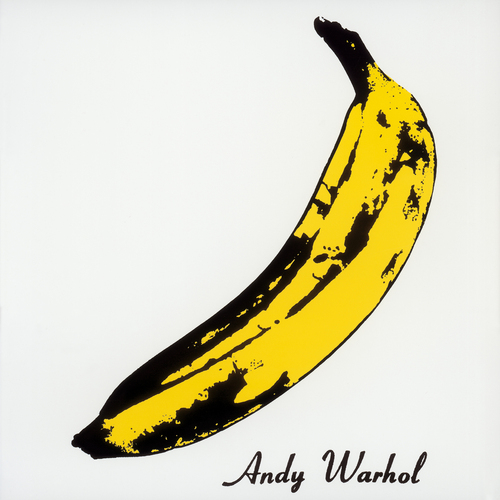 Lou Reed wallpaper containing a banana, an edible banana, and a plantain titled the The Velvet Underground & Nico
