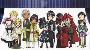 the black butler gang!