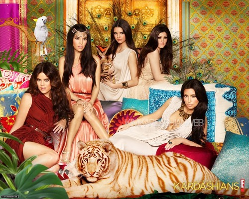 Kim Kardashian wallpaper probably with a bridesmaid and skin called 'Keeping up with the Kardashians' Season 6 Promotional Photoshoot