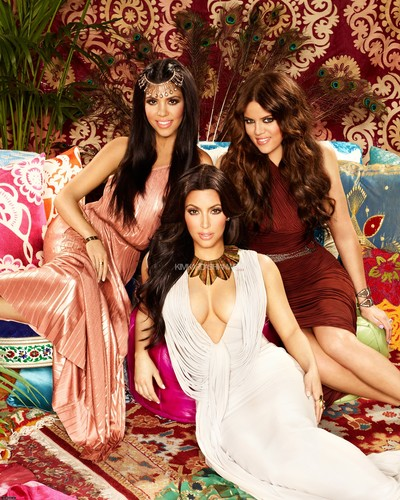 Kim Kardashian wallpaper possibly containing a bridesmaid entitled 'Keeping up with the Kardashians' Season 6 Promotional Photoshoot