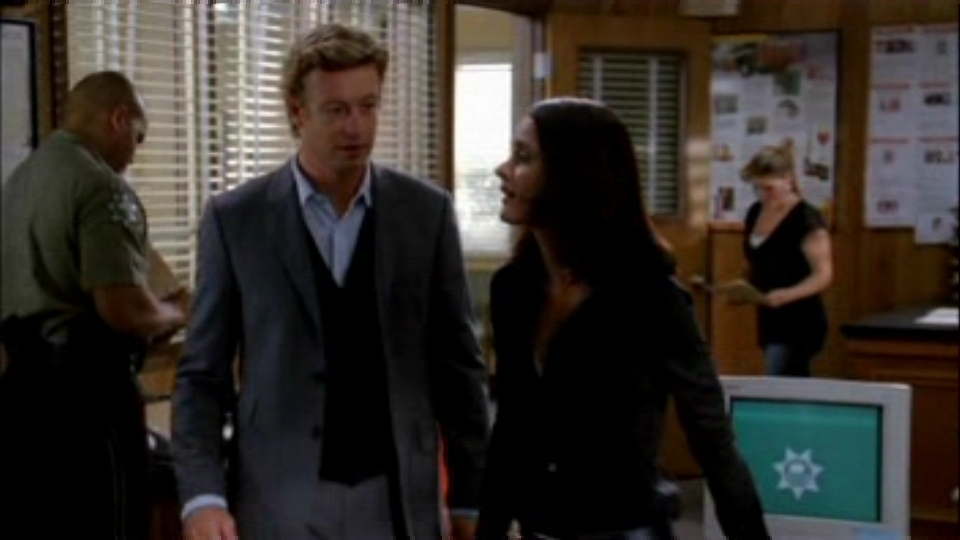 The mentalist season 1 red hair and silver tape - Paradesi