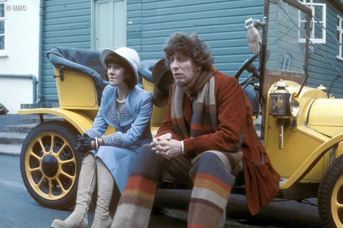 4th Doctor with Sarah Jane