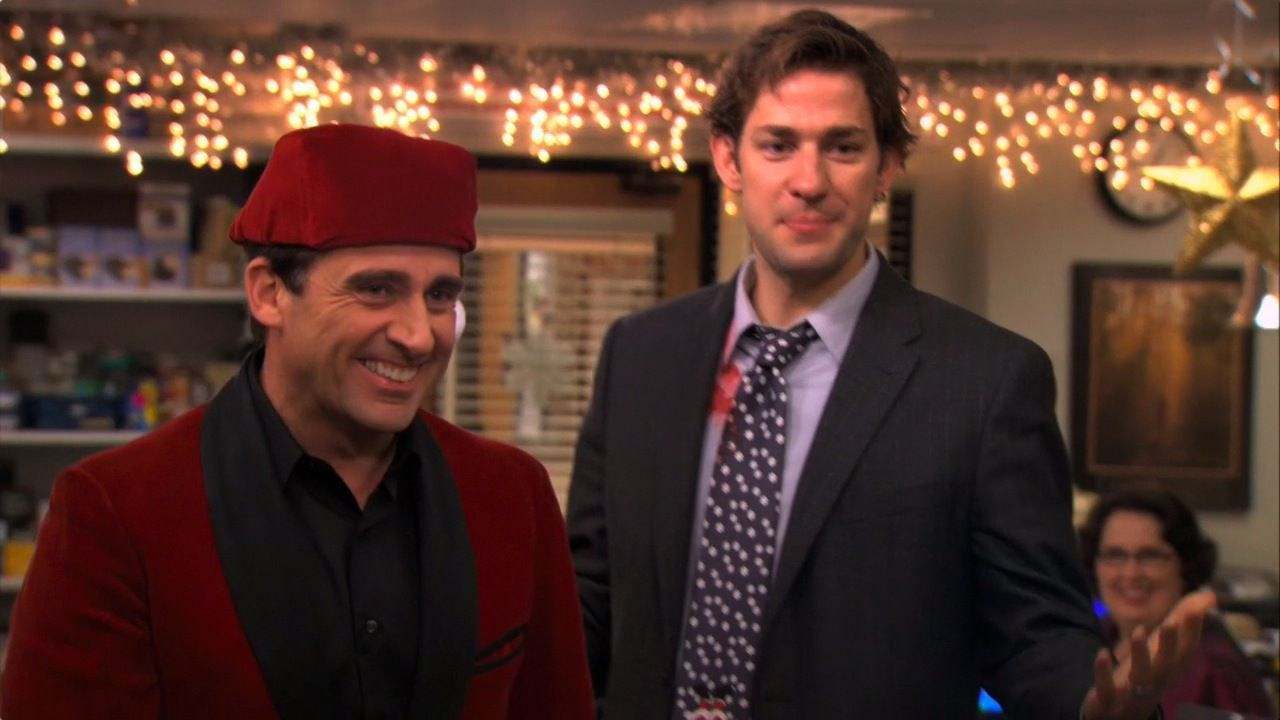 michael holly images 7x11 7x12 classy christmas hd wallpaper and background photos - Classy Christmas The Office