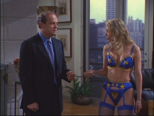 Frasier wallpaper probably containing a bikini entitled 7x20 To Thine Old Self Be True