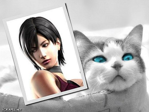 Ada Wong... A woman in red