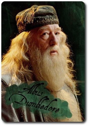Albus Dumbledore Character Card