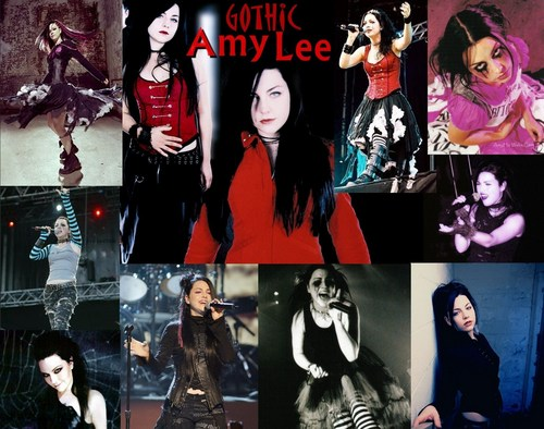 Amy Lee gothic